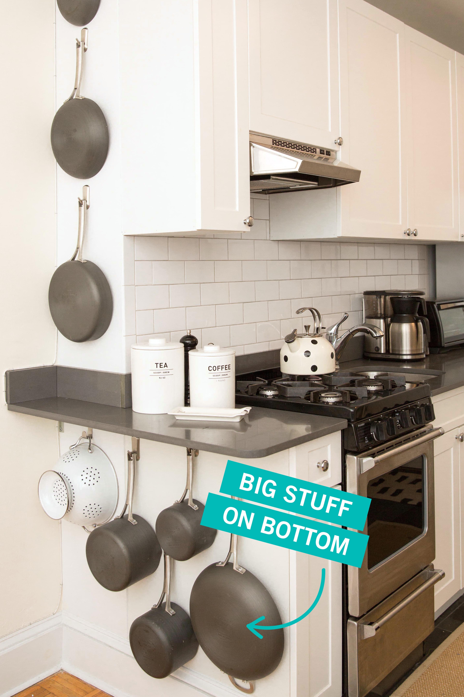Storage Tricks For A Tiny Kitchen Small Kitchen Organization