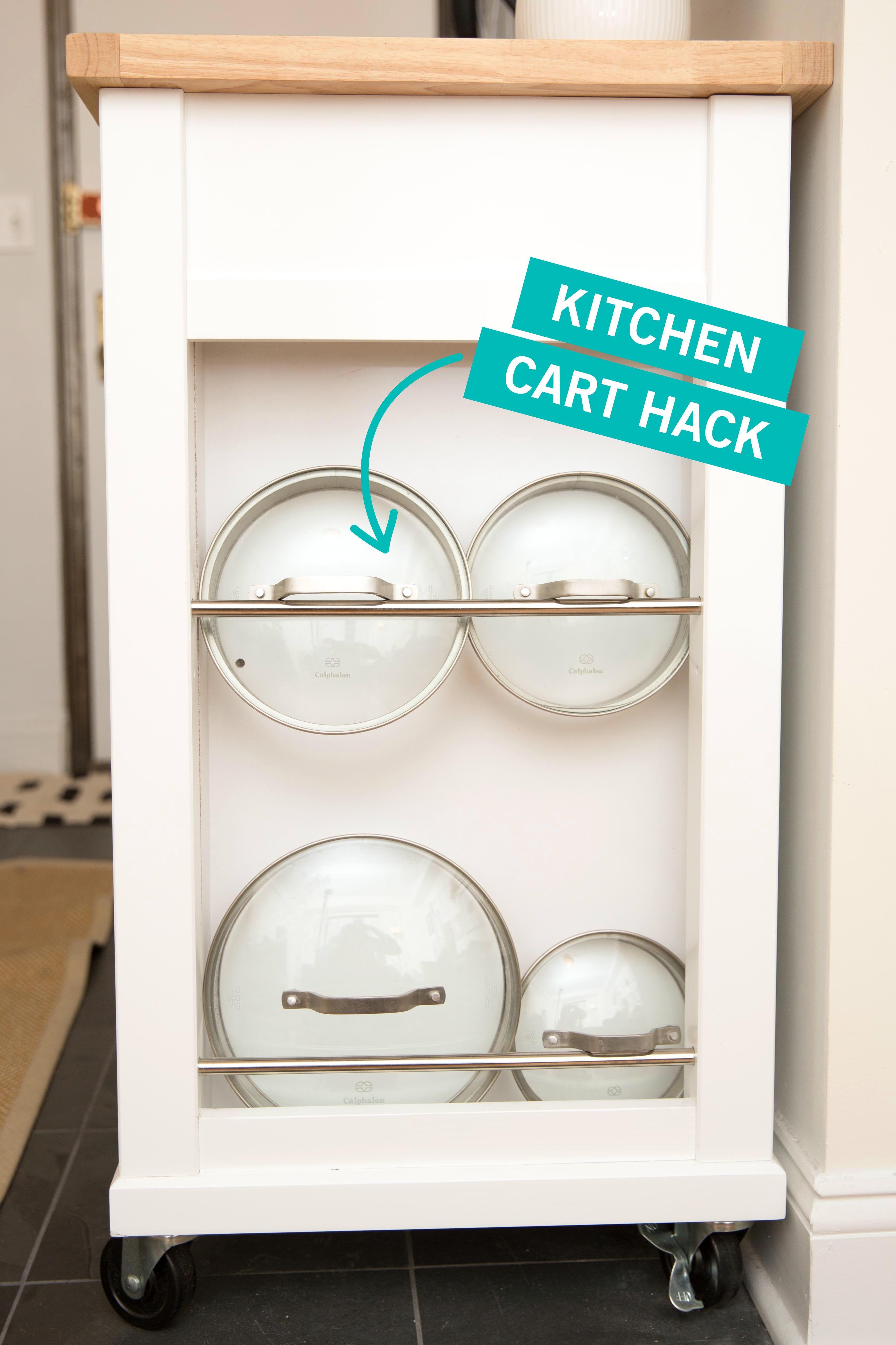 Storage Tricks for a Tiny Kitchen - Small Kitchen Organization
