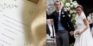 Pippa Middleton's Wedding Invitation