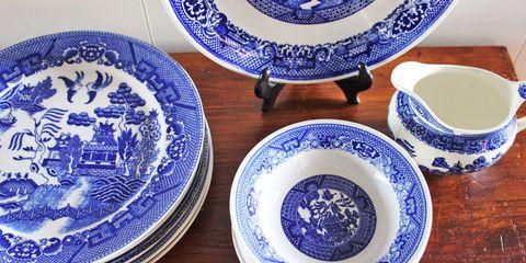 Blue and white porcelain, Serveware, Blue, Porcelain, Dishware, Tableware, Plate, Ceramic, earthenware, Pottery,