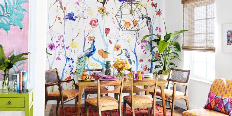 Boho Apartment in Miami Beach - Schuyler Samperton\'s Colorful Style