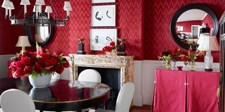 Red Dining Room No One Who Hosts A Dinner Party Wants Friends Or Family Leaving Hungry Luckily Color Is On Your Side According To Sally Augustin