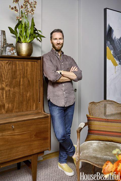Gray Greenwich Village Apartment Joshua Greene Of
