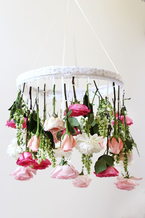 Floral chandeliers diy floral chandeliers a little more layers aloadofball Gallery