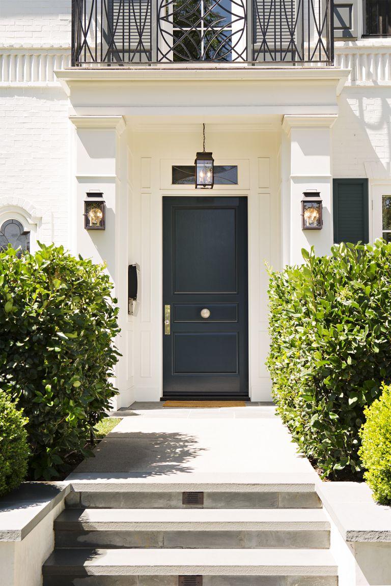25 best front door paint colors paint ideas for front doors - Blue front door colors ...
