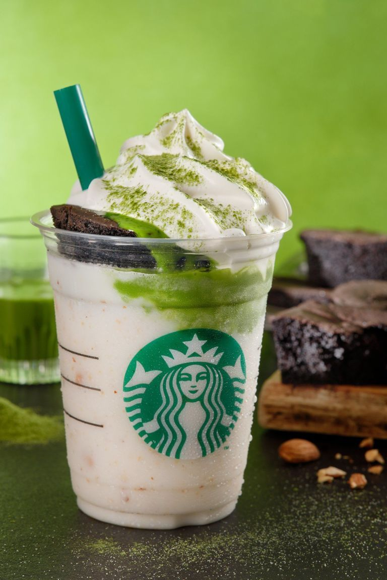 Starbucks' New Frappuccinos Come Topped With Chocolate Cake