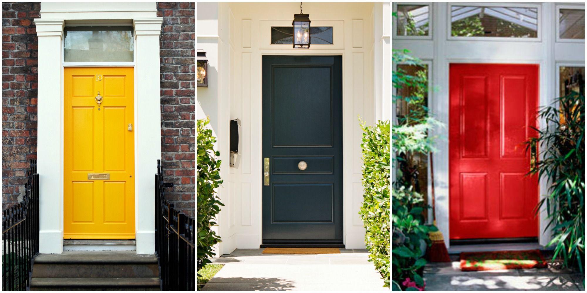 Best Front Door Paint Colors Paint Ideas For Front Doors - Green front door