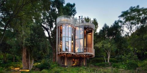 Your Childhood Self Would Be Obsessed With This Live-In Treehouse In South Africa