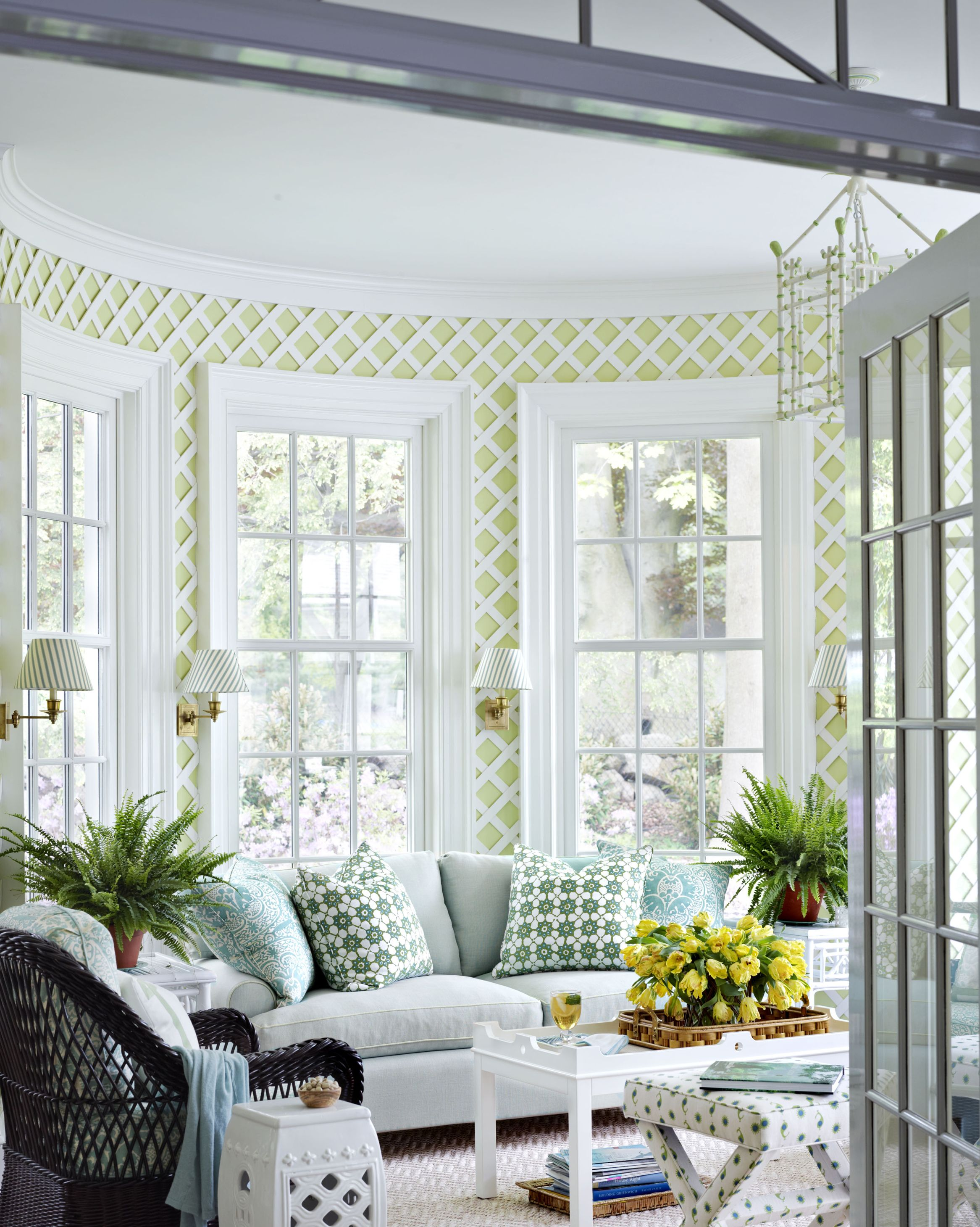 ashley whittaker green sunroom