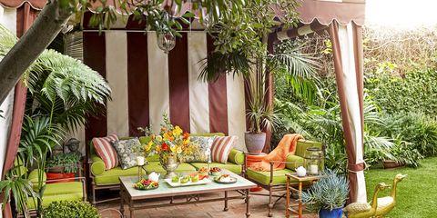 Property, Furniture, Swing, Backyard, Yard, Room, House, Patio, Garden, Interior design,