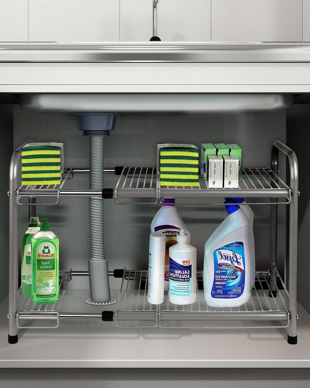 sink organizers kitchen sink organizing products - Kitchen Sink Organizer
