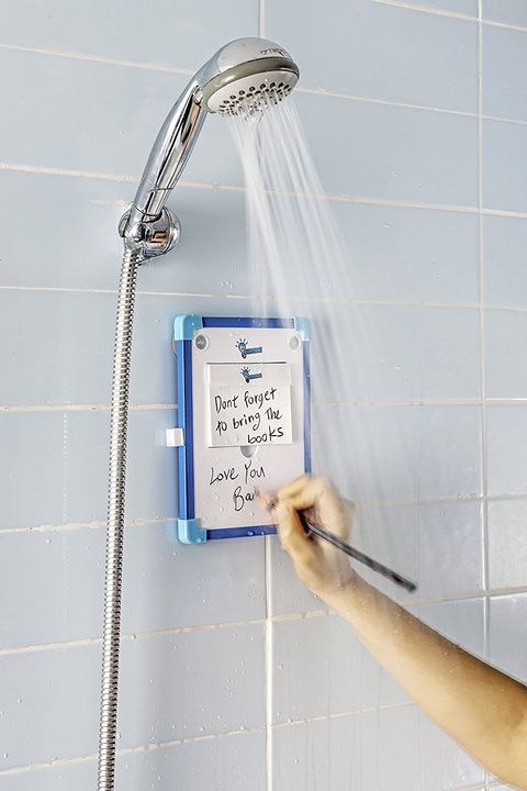 shower notepad