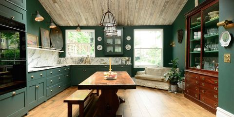 sofas in kitchens