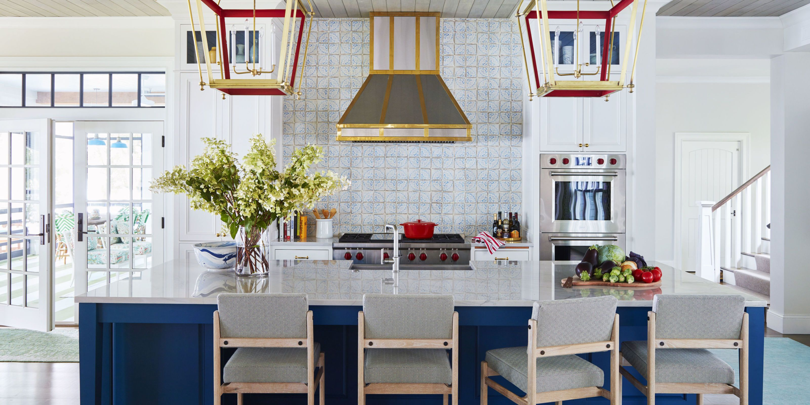 Wisconsin Lake House Summer Thornton Designs a Colorful Vacation Spot