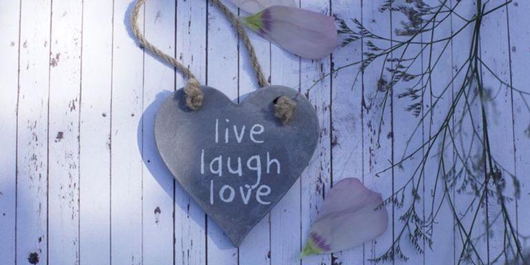 This Is The Origin Of Quot Live Laugh Love Quot