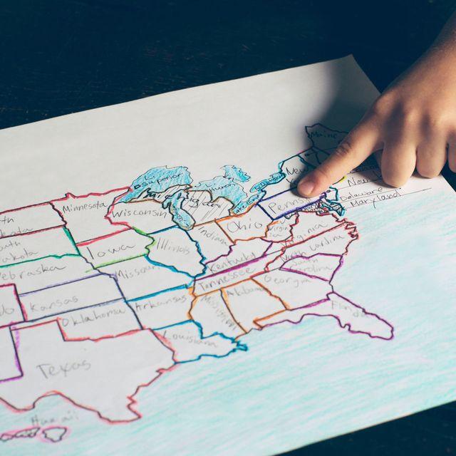 Map, Hand, Drawing, Illustration, World, Games,