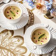 Serveware, Dishware, Porcelain, Tableware, Ceramic, Plate, Saucer, Cuisine, Platter, Teacup,