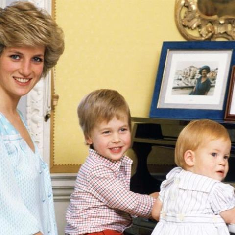 How Princess Diana Decorated Her Private Quarters in Kensington Palace
