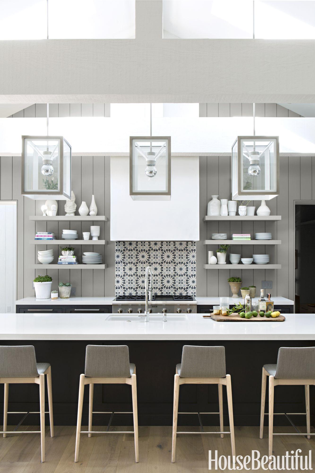 modern kitchen ideas & 14 Best Kitchen Paint Colors - Ideas for Popular Kitchen Colors