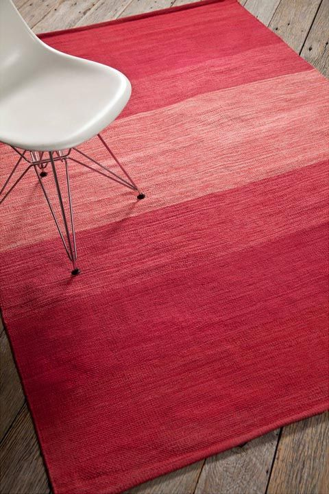 pink and red rug