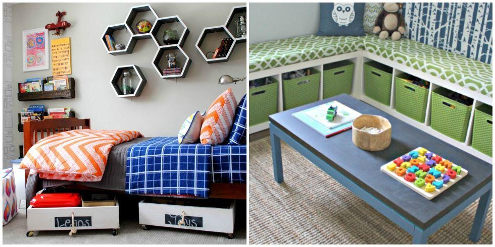 Large Toy Storage Ideas Part - 29: 10 Genius Toy Storage Ideas For Your Kidu0027s Room - DIY Kids Bedroom  Organization