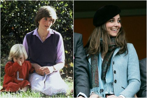 princess diana kate middleton jobs