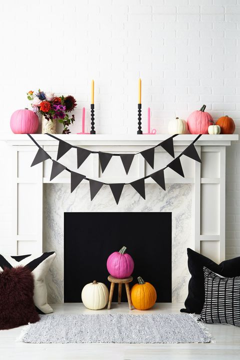 halloween pennant banner