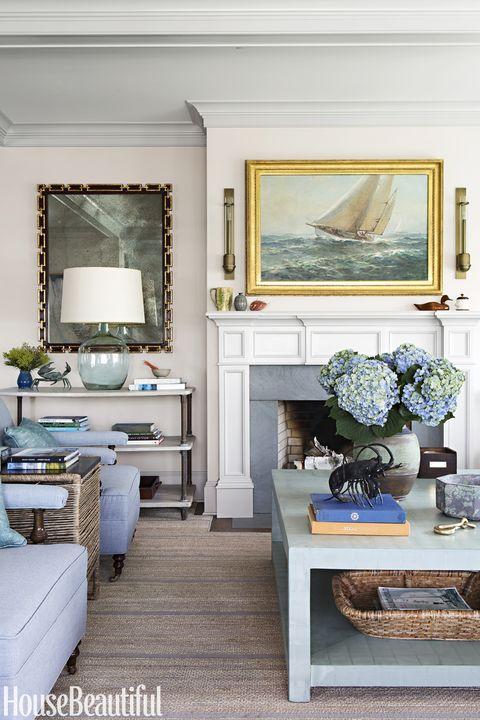 Room, Living room, Furniture, Interior design, Blue, Property, Wall, Home, Floor, Building,