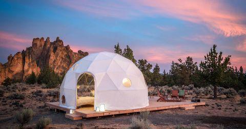 Landscape, Soil, Ecoregion, Dome, Tent, Biome, Dusk, Outcrop, Evening, Shade,