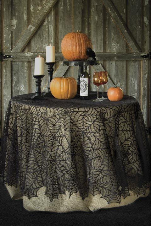 Kết quả hình ảnh cho Sophisticated Pumpkin Tablecloth