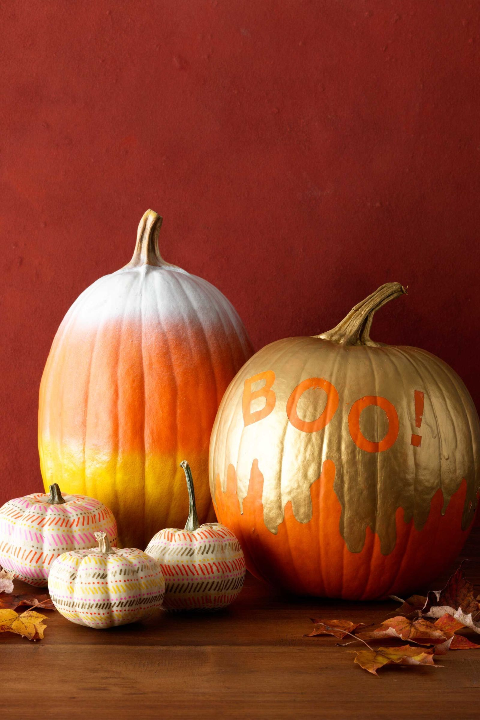 40+ Pumpkin Decorating Ideas for 2018 , Painted Pumpkin
