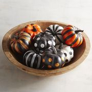 Pumpkin, Orange, Calabaza, Bowl, Food, Tableware, Gourd, Ceramic, Winter squash,