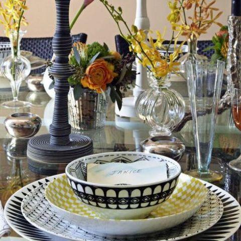 elegant table settings. tablescapes elegant table settings