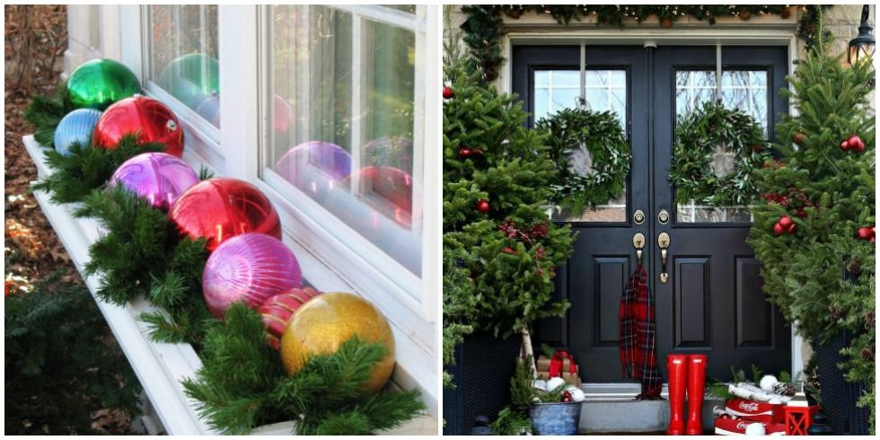 25 Best Outdoor Christmas Decorations - Christmas Yard Decorating ...