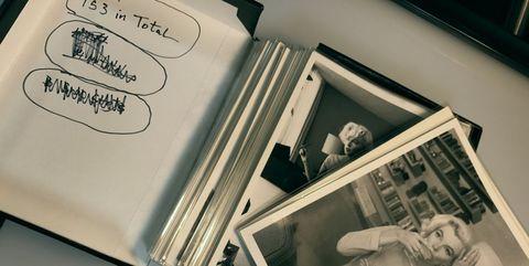 Material property, Room, Album, Black-and-white, Illustration,