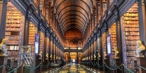 Building, Architecture, Library, Symmetry, Arcade, Basilica, Aisle, Church, Arch, City,