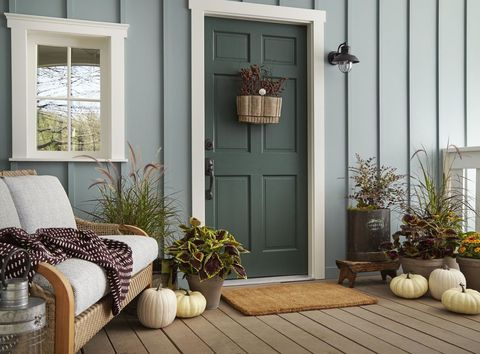 Behr color of the year 2018 behr in the moment blue - Behr color of the year ...