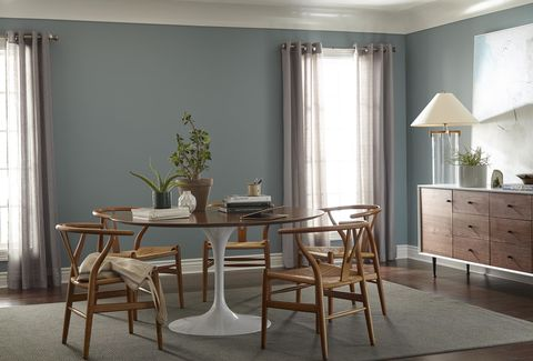 Behr Color of the Year 2018 Behr In the Moment Blue