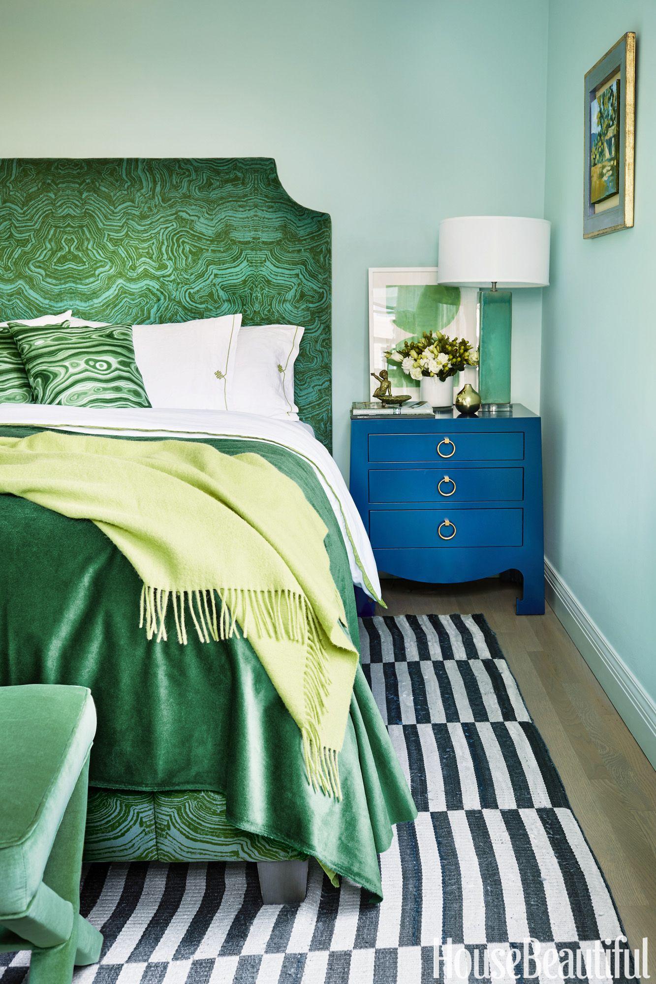17 dreamy green bedrooms best decor ideas for green bedroom rh housebeautiful com