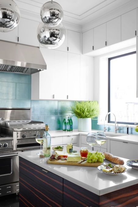 14 Ideas For Decorating Space Above Kitchen Cabinets