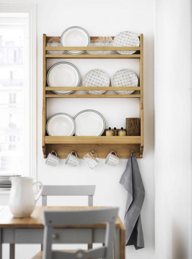 Witham oak plate rack, Rowen & Wren