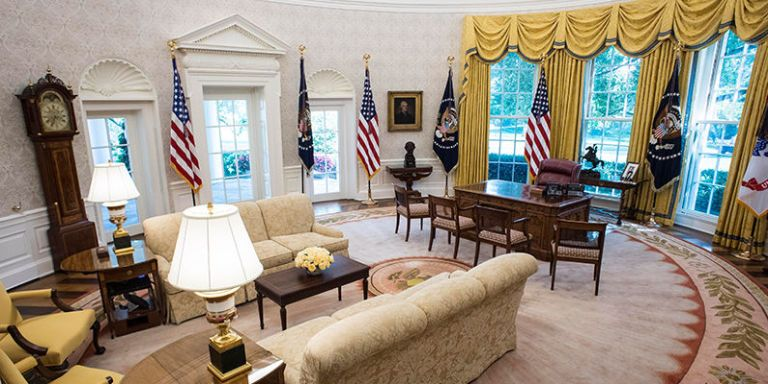 West wing white house interior
