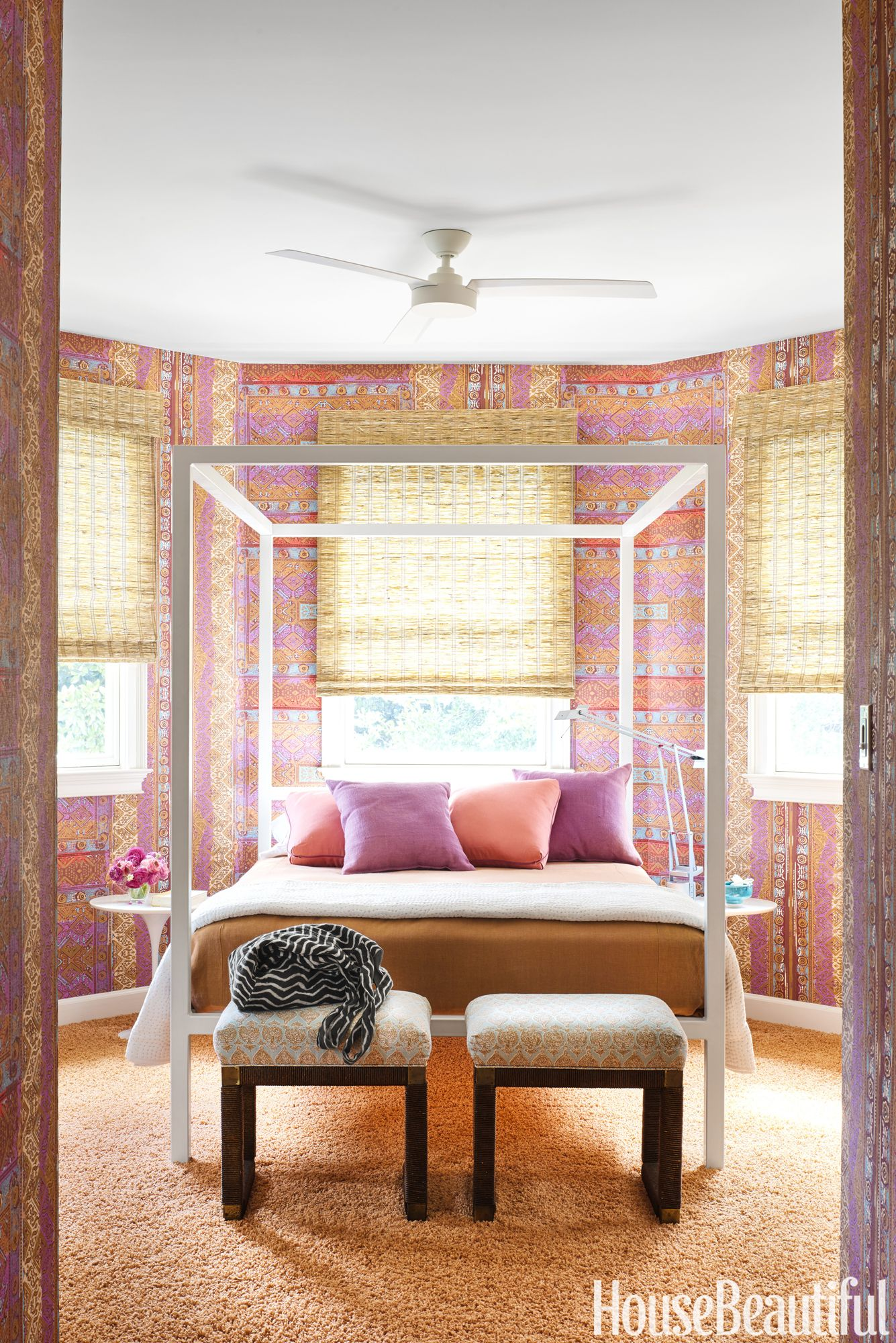 Annie Schlechter. Bohemian Bedroom