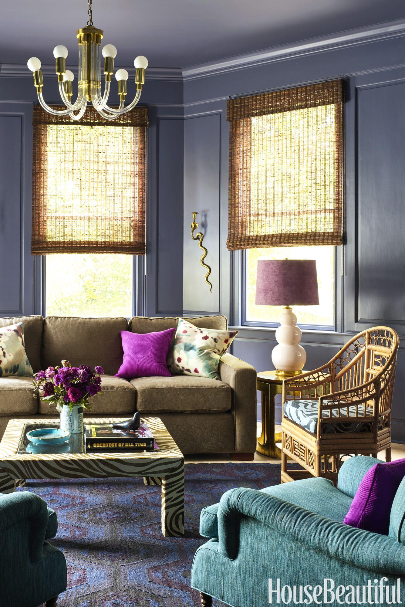 purple study & 10 Different Shades of Purple - Best Purple Paint Colors