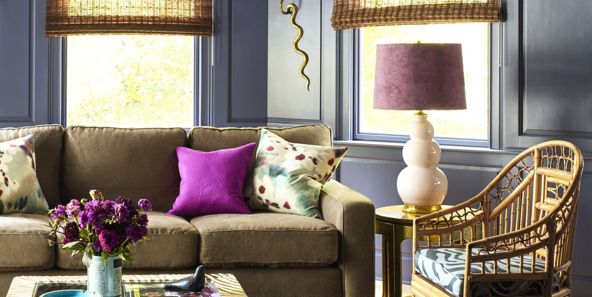 10 Purple Paint Colors To Inspire You Decorate Without Fear