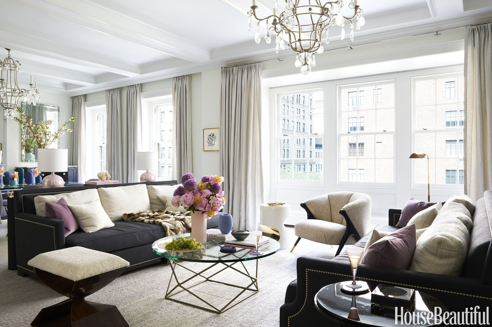 11 Ways To Pull Off A Clean White Living Room