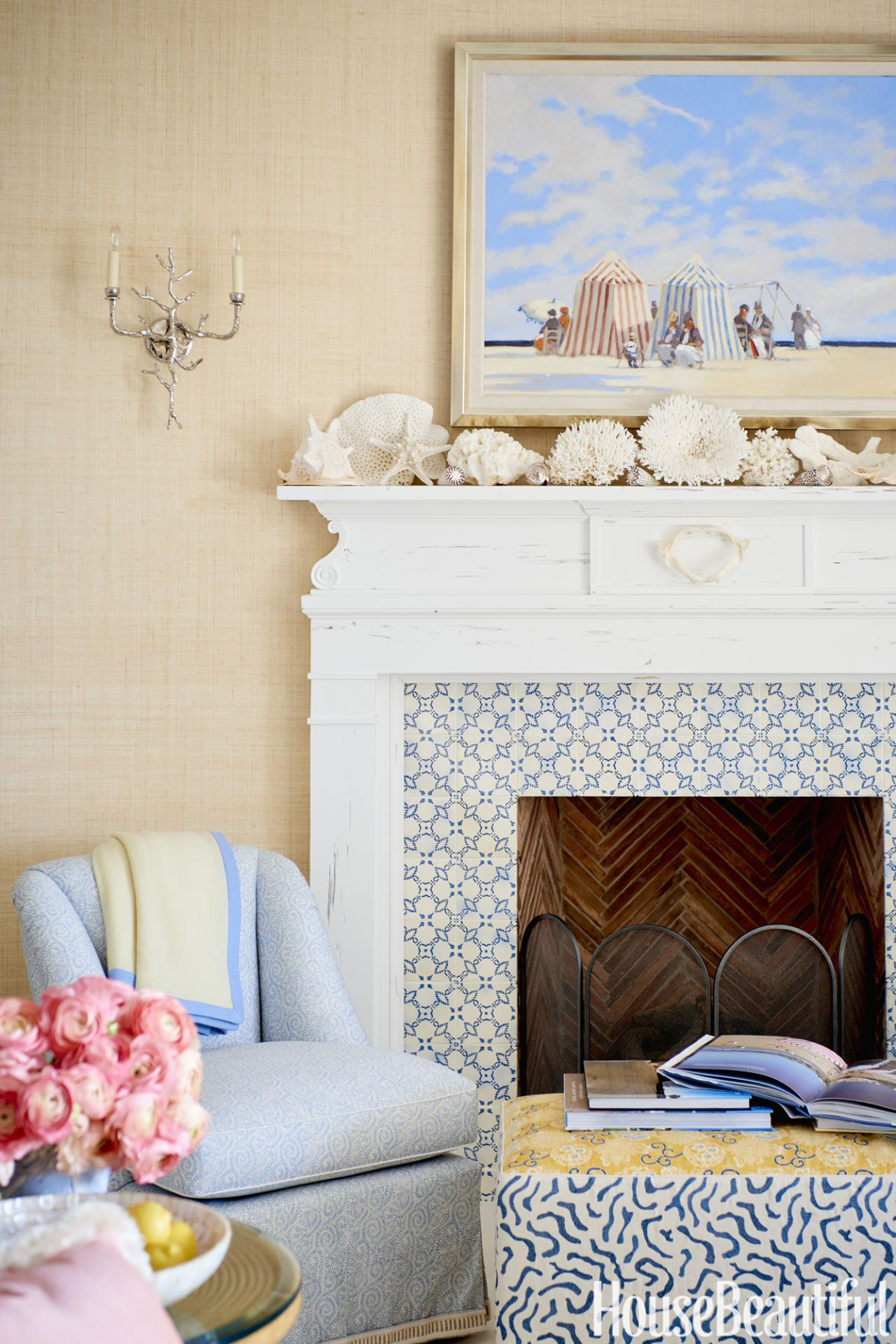 Attractive Sara Gilbane Fireplace