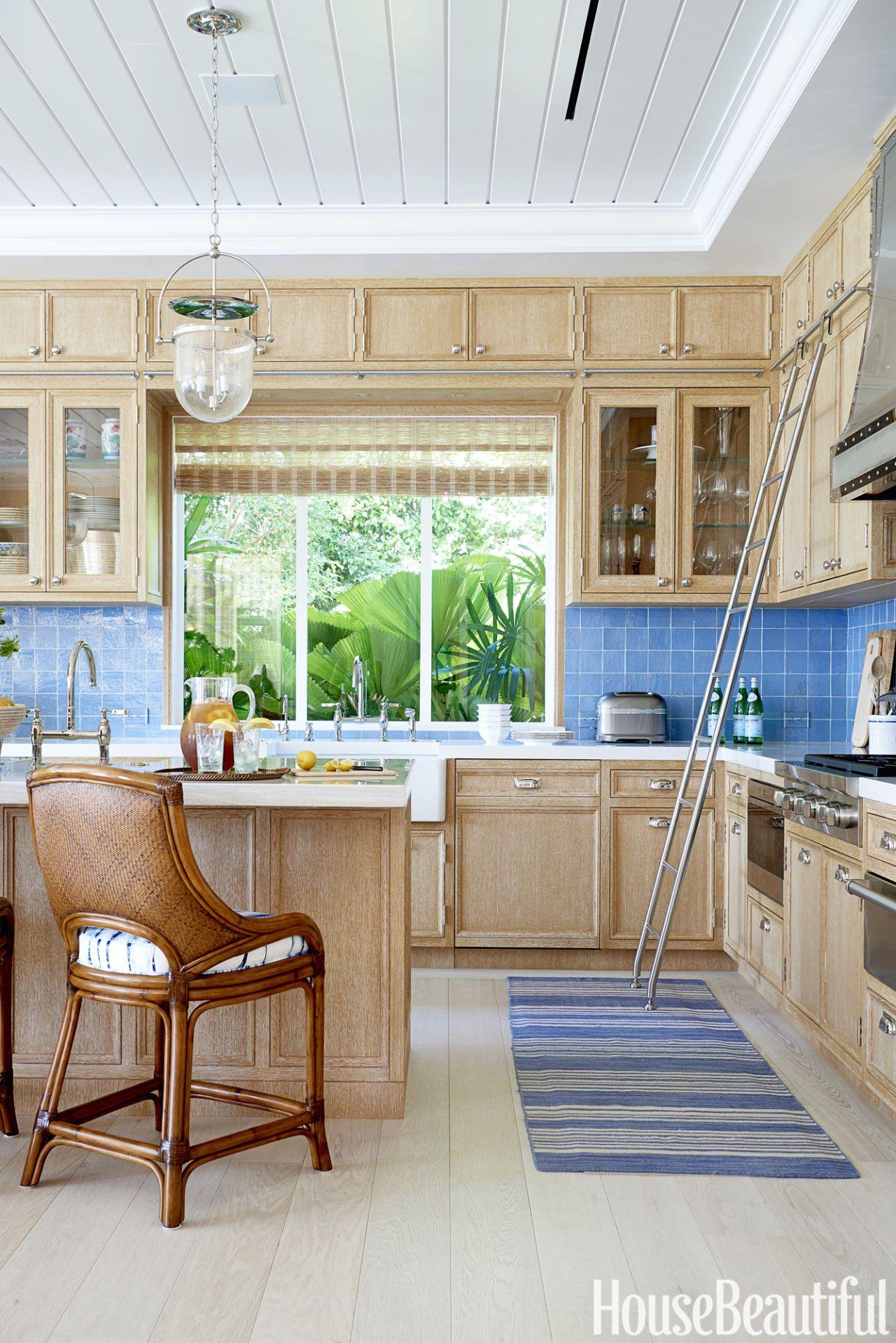 Sara Gilbane Blue Florida Kitchen
