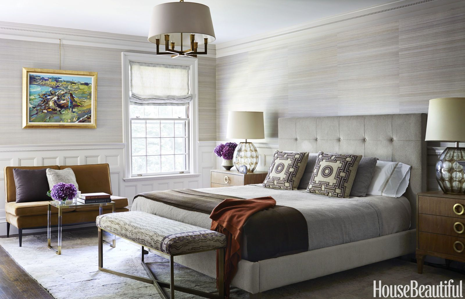 & 25 Best Gray Bedroom Ideas - Decorating Pictures of Gray Bedroom Design