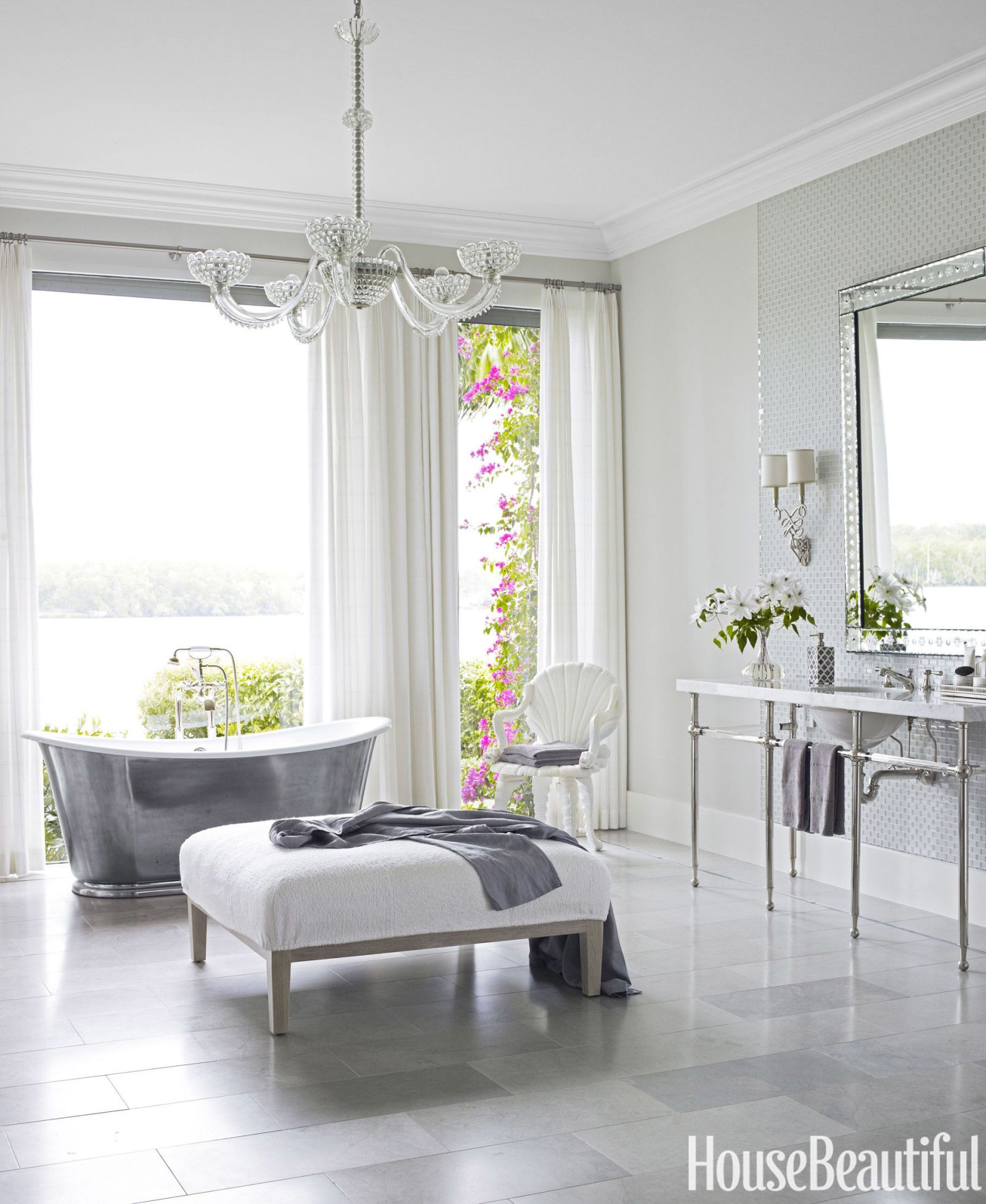 grey master bathroom ideas